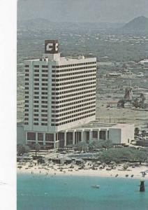 Aerial View, Aruba Concorde Hotel -Casino, Netherlands Antilles, 40-60s