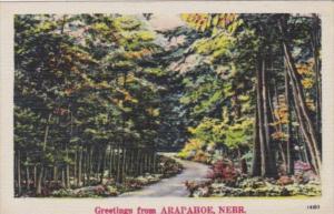 Greetings From Arapahoe Nebraska