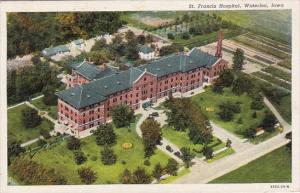 Iowa Waterloo Saint Francis Hospital  1941