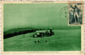CPA  Mont-Pilat - La Jasserie du Pilat en hiver et ses Forets de Sapins (487415)
