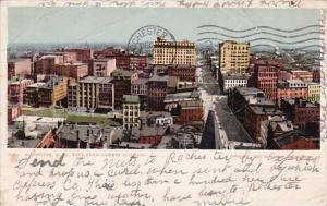 New York Rochester East From Powers Building 1905