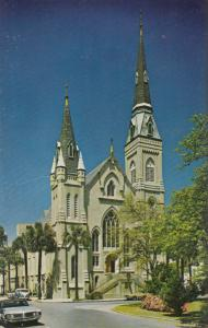 Wesley Monumental United Methodist Church, Savannah, Georgia, unused Postcard
