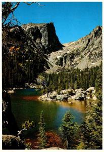 Colorado Rocky Mountains Dream Lake and Hallets Peak
