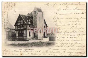 Postcard Old House Fayelle