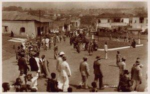 Ghana Gold Coast Kumasi Postcard