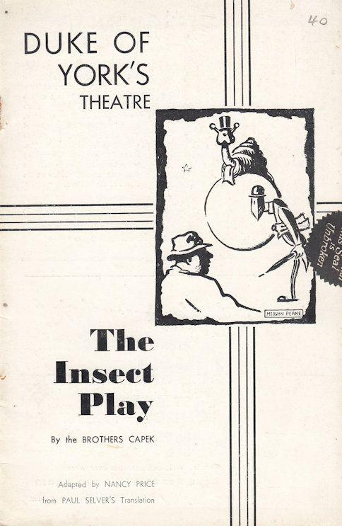 The Insect Play Moths & Ants Duke Of Yorks Old Theatre Programme