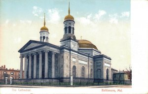 USA The Cathedral Baltimore Maryland 03.82