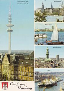 Germany Gruss aus Hamburg Multi View
