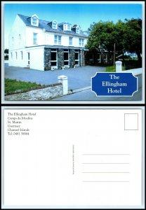 UK / Guernsey Postcard - The Ellingham Hotel B12
