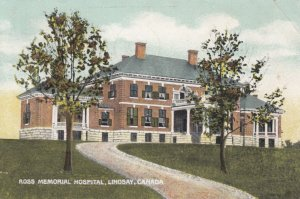LINDSAY, Ontario, Canada, 1912; Ross Memorial Hospital