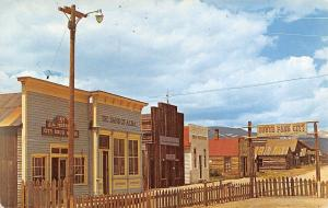 Fairplay Colorado~South Park City~Restored Mining Town~Sentinel~1960s Postcard