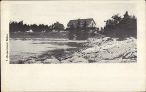 Mouse Island ME c1905 Postcard #4