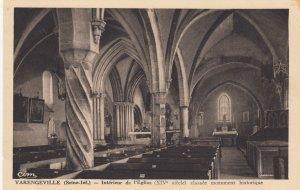 Varengeville-sur-Mer, France , 00-10s ; Interieur de l'Eglise