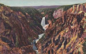 Grand Canyon Of The Yellowstone Yellowstone National Park Curteich