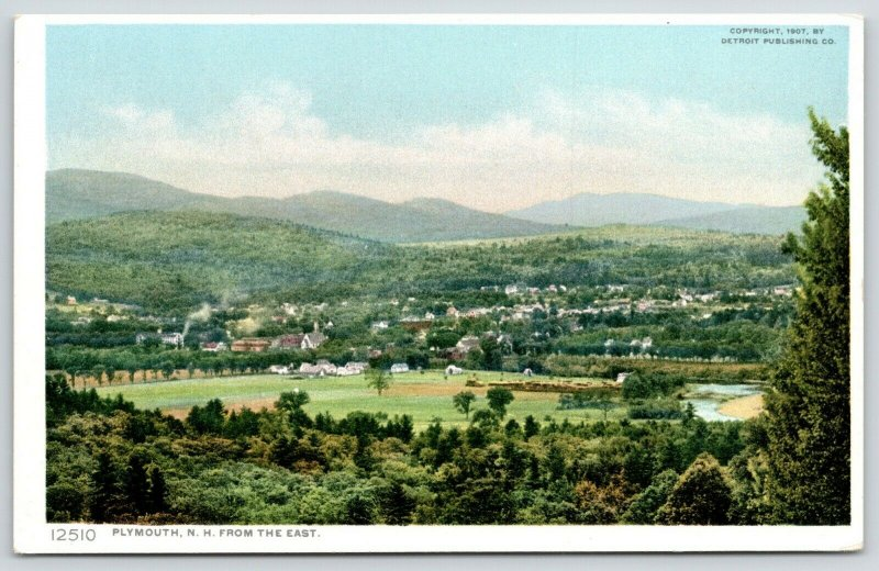 Plymouth New Hampshire~Village Panorama From the East~Homes~1907 Detroit Pub Co