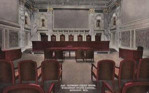 Wisconsin Madison State Capitol Building Supreme Court Room 1914