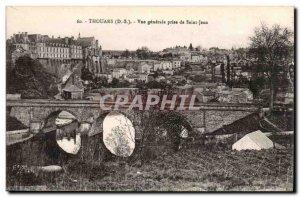 Thouars - Vue Generale taking St. John - Old Postcard