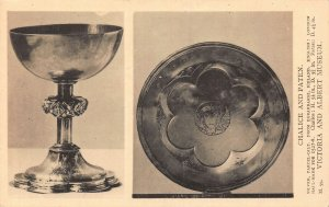 Chalice And Paten Victoria and Albert Museum Postcard