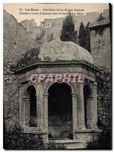 Old Postcard Les Baux Pavillon de la Reine Jeanne See you Love Princes of Baux