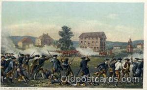 Battle of Lexington American History Postcard Post Card  Battle of Lexington