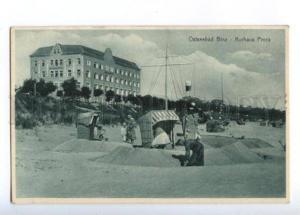 173712 GERMANY Ostseebad Binz Kurhaus Prora Vintage postcard