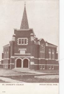 INDIAN HEAD , Saskatchewan , Canada , 00-10s : St Andrews Church