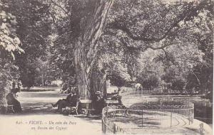 Un Coin Du Parc Au Bassin Des Cygnes, Vichy (Allier), France, 1900-1910s