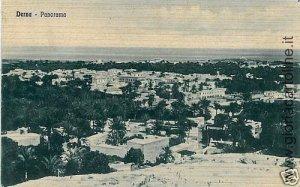02314   CARTOLINA d'Epoca:  LIBIA : DERNA