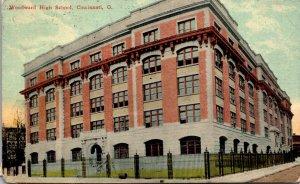 Ohio Cincinnati Woodward High School 1912