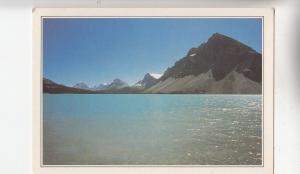 BF27937 canada mountain lake lac bow alberta   front/back image
