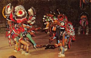 Vintage 1965 Postcard Sioux Indians, Stand Rock Indian Ceremony, Wisconsin #286