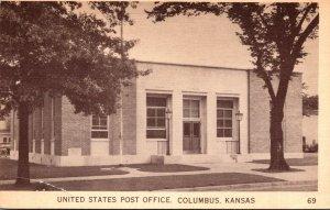 Kansas Columbus Post Office