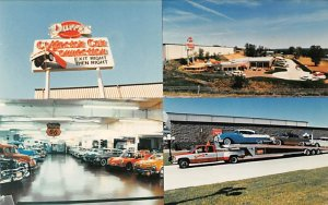 Trucks / Buses /  Vans Post Card Duffy's Collectible Car Connection Ceda...