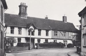 Gothic House Halesworth Suffolk Period Home Postcard