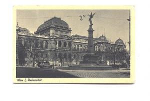 Monument and University, Wien, Austria