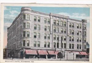 Indiana Richmond The Westcott Hotel 1918