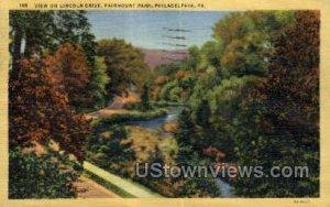 Lincoln Drive, Fairmount Park - Philadelphia, Pennsylvania