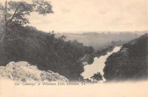 Lancaster Pennsylvania Conestoga Williamson Park Antique Postcard K64400