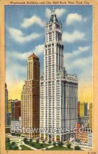 Woolworth Bldg - New York City, New York