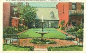Old Stone House and Enchanted Garden, Poe Shrine, Richmon...