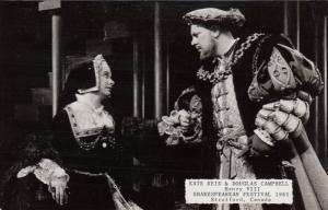 RP: STRATFORD, Ontario, Canada, Shakespearean Festival 1961, Henry VIII