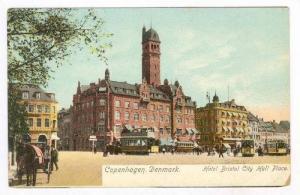 Hotel Bristol City Hall Place, Copenhagen, Denmark, 1900-1910s