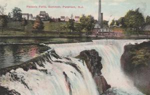 Passaic Falls in Summer - Paterson NJ, New Jersey - DB