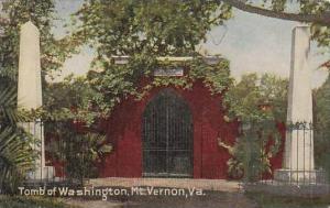 Virginia Mount Vernon Tomb Of Washington 1910