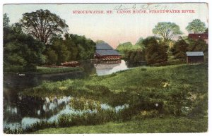 Stroudwater, Me, Canoe House, Stroudwater River