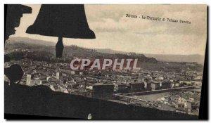 Postcard Old Bell Palazzo Vecchio Firenze