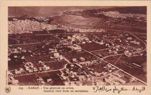 Morocco Rabat General View From An Aeroplane 1920-30s