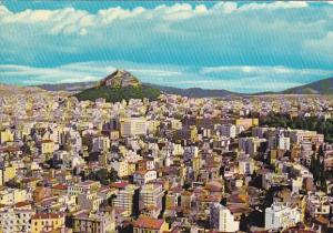 Greece Athens Partial View to Lycabette 1961