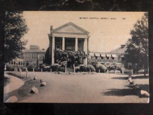 Mint Usa Real Picture Postcard RPPC Hospital Beverly MA View