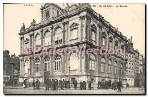 Old Postcard Le Havre Le Musee